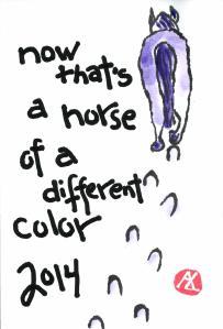 HorseofaDiffColor.Purple.NY.2013-12-07